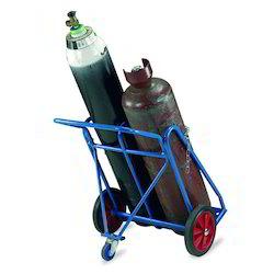 xe đẩy bình khí đôi